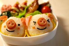 Eu sou um bolinho de arroz, meus bracinhos vieram bem depois, minhas perninhas ainda estão por vir e eu não tenho boquinha para sorrir. Por que? Por que? Eu sou bolinho de arroz...