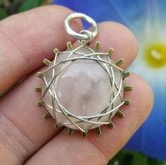 Wire Wrapped Cabochon Tutorial Uses Gear Backs | Make Your Own Polymer Clay Gears