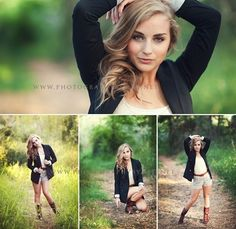 Grassy, leading lines, great light and strong poses.