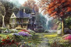Victorian Garden par Dominic Davison