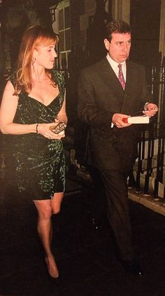 1996 Prince Andrew and Duchess of York