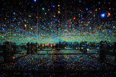 Infinity Room, Yayoi Kusama, Broad Museum, Los Angeles, California
