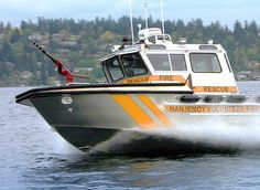 Nanjemoy Volunteer Fire and Rescue Boat