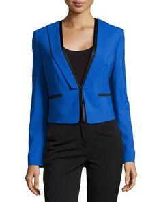 MICHAEL KORS Short Tuxedo Jacket, Royal . #michaelkors #cloth #jacket