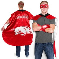 Arkansas Razorbacks Superhero Costume.... bahahahaha! It's a bird, it's a plane, it's Super Hog!