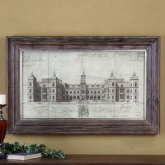 Collins 'Hatfield House' Canvas Artwork - Overstock™ Shopping - Big Discounts on Canvas