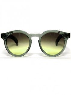 ILLESTEVA, LEONARD 2 GREEN: still a giggly girl over the brand name. still shitting my pants for these acidic shades. #illesteva #sunglasses $252