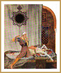 1915 - Tales from the Arabian nights Williy Pogany by carlylehold, via Flickr