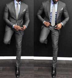 Discover the top 30 best charcoal grey suit with black shoes styles for men. Explore unique men's fashion ideas and inspiration for creating a dapper look. Sharp Dressed Man, Well Dressed Men, Style Gentleman, Terno Slim, Men Formal, Formal Wear, Men's Suits, Mode Masculine, Fashion Mode