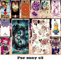 Soft Silicon TPU Or Plastic Mobile Phone Cases For Sony Xperia C3 S55T D2533 Dual D2502 S55U Cases 18 Style Paint Back Covers #>=#>=#>=#>=#> Click on the pin to check out discount price, color, size, shipping, etc. Save and like it!