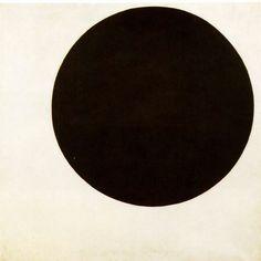Kazimir Malevich(1915)  Black Circle