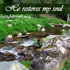 How does God restore your soul? http://hollybarrett.org/2015/06/testimony-tuesday-lindsey-thrasher.html #WomenWhoInspire #TestimonyTuesday #ReclaimingaRedeemedLife