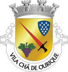 Brasão de armas de Vila Chã de Ourique