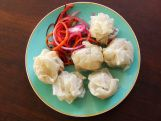 Vegan, no fat dumplings (gluten free)