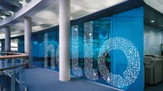 Truelocal Brand Refresh by Office Graphics, Window Graphics, Floor Graphics, Office Interior Design, Office Interiors, Glass Film Design, Environmental Design, Environmental Graphics, Glass Office