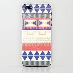 Aztec pattern 3 iPhone & iPod Skin