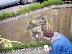 Moss graffiti tutorial  http://heavypetal.ca/archives/2007/04/operation-moss-graffiti/