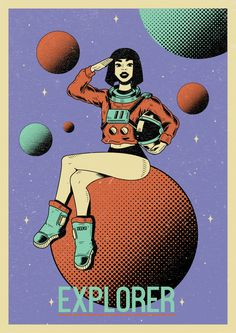 Explore_T-shirts/Poster illustration for Deeko on Behance