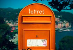 mailbox in orange My Favorite Color, My Favorite Things, Jaune Orange, Hermes Orange, Orange Aesthetic, Jus D'orange, Oranges And Lemons, Orange You Glad, Happy Colors