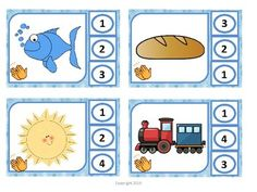 Contando Silabas- Counting Syllables by The Happy Bilingual Classroom Bilingual Kindergarten, Bilingual Classroom, Kindergarten Literacy, Literacy Centers, Syllable, Small Groups, Counting, Teaching Ideas, Spanish