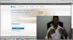 How To Get A Paypal Loan 2015 | Apply For A Paypal Loan