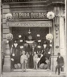 1921 - Rua João Brícola Nº 14 - Ao Paraquedas