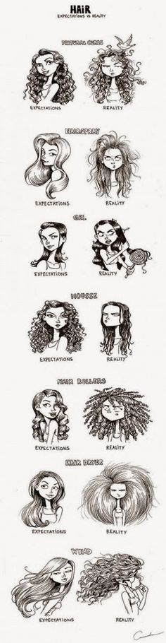 Hair Expectations versus Reality