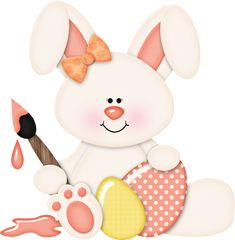 """Photo from album """"Hippity hop"""" on Yandex. Easter Eggs, Easter Bunny, Easter Paintings, Easter Wallpaper, Baby Applique, Easter Printables, Easter Celebration, Easter Holidays, Joker And Harley"""