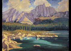 Lake Carezza in the Dolomites,  by Winston Churchill