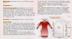 Resultado de imagem para trico a maquina, receita de vestidos