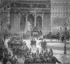 Funérailles du vice-amiral TOUCHARD, février 1879