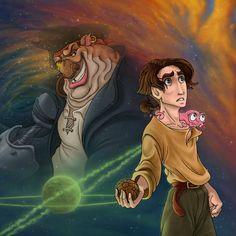 It's, it's...Treasure Planet by murr-ma-ing