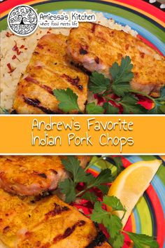 Andrew's Favorite Indian Pork Chops Curry Pork Chops, Pork Loin Chops, Tandoori Recipes, Curry Recipes, Indian Food Recipes, My Recipes, Cooking Recipes, Asian Foods, Pork Chop Recipes