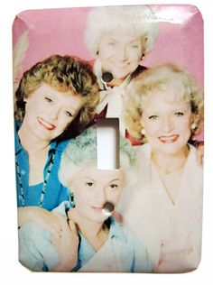 This Light SwitchPlate | Community Post: 33 Insanely Amazing Golden Girls Crafts For Sale On Etsy