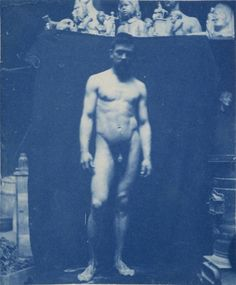 Samuel Aloysius Murray - photographed by Thomas Eakins in his Philadelphia studio. (ca. 1890-1892).