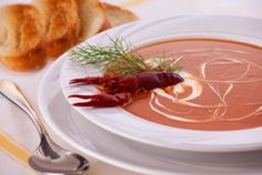 Soup - Bisque on Pinterest | Seafood Bisque, Crab Bisque and Tomato ...