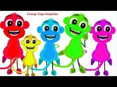 Cinq petits singes – Paroles : Cinq petits singes sautant sur le lit Un se cogna la tête sur le tapis Maman appela le docteur Et le docteur dit Plus de singe...