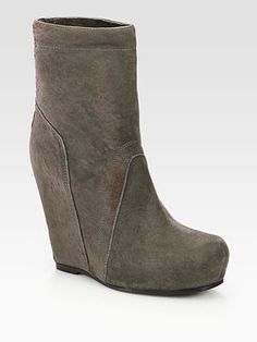 RICK OWENS Wedge Boot new! consignment item at gh2!