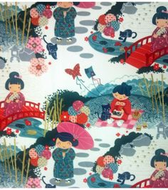 Premium Quilt Fabric-Aoi Has Two Sisters at Joann.com