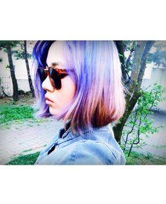 #ART #JOO #ForTheART #Blue  #Ombre #Hair