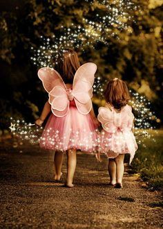 audreylovesparis: Experiencing magic in childhood years is vital to opening your imagination as an adult. Keep the magic alive… Just believe! :) ~Charlotte (PixieWinksFairyWhispers)