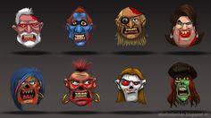 Atul Lahu Todankar:  Zombie Faces