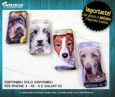 personalized  iPhone 4 covers Kongo (Labrador) Nanà (Border Collie) Kira (Jack Russel Terrier) Bonnie (Weimaraner)