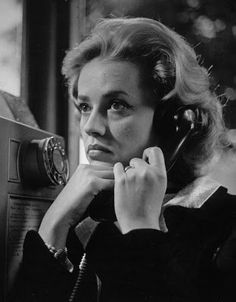 Jeanne Moreau, in Louis Malle's masterful New Wave film noir, Elevator to the Gallows her anguished footsteps syncopating Miles Davis's haunting score as she walks alone through the streets of Paris. Jeanne Moreau, Tyler Durden, Catherine Deneuve, Sophia Loren, Jules And Jim, Emmanuelle Béart, Francois Truffaut, Michelangelo Antonioni, Black White