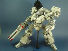 LEGO MOC MOC-1790 Armored Core Mech - building instructions and parts list.