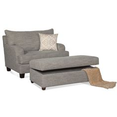 "Selby Arm Chair. All was going well until he said ""babe, I want a recliner."" Such a shame. He was almost the perfect man. Maybe this chair is a compromise?"