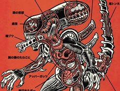 Explore a anatomia de monstros do cinema