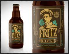 Fritz Beer Label
