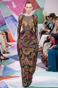 Schiaparelli Fall 2016 Couture Fashion Show - Lisa Helene Kramer