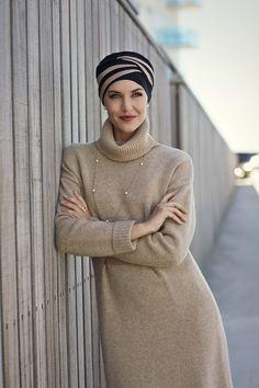 Colección otoño-invierno Christine.Turbante Style 1131-395 #turbante #invierno www.monjes.net
